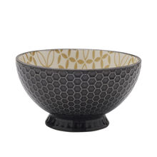 Gray Footed Soup Bowl