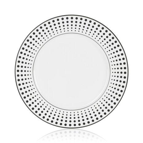 12 Inch Dots Round Platter