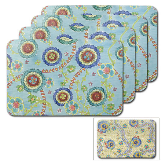 Set of 4 Reversible Placemats
