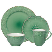 Green Dinnerware Set