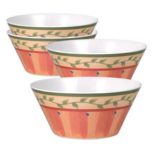 Set of 4 Melamine Cereal Bowls