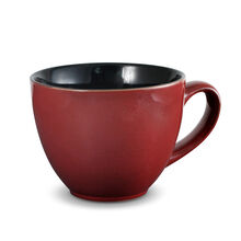 Red Jumbo Soup Mug
