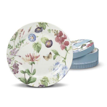 Redoute Meadow Set of 4 Salad Plates
