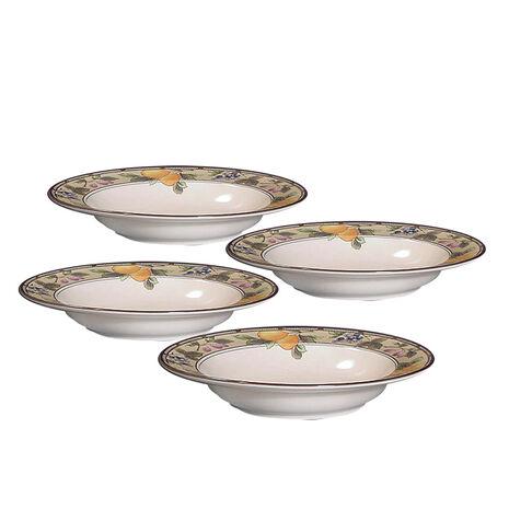 Rim Soup Bowls, Set of 4