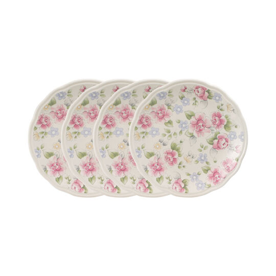 Set of 4 Accent Luncheon Plates