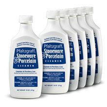 Stoneware and Porcelain Cleaner, Set of 6 Bottles
