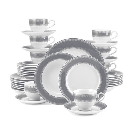 Slate 40 Piece Dinnerware Set