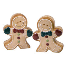 Gingerbread Cottage Salt and Pepper Set