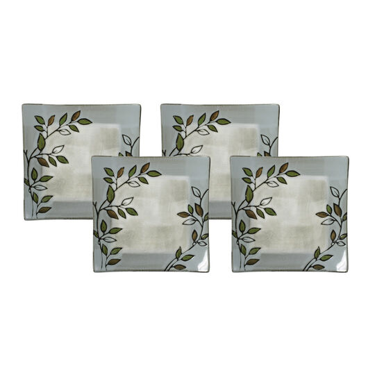 Set of 4 Square Accent Plates