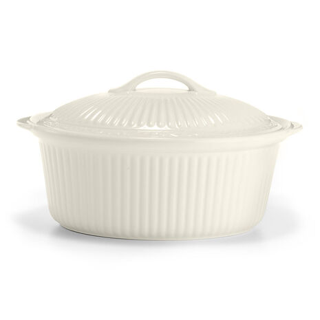 Oval Covered Casserole