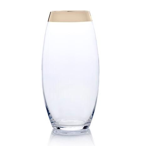 Large Teardrop Glass Vase