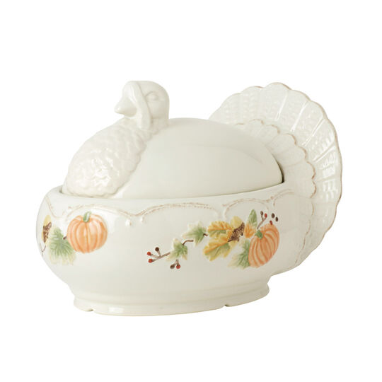 Turkey Shaped Covered Serving Dish