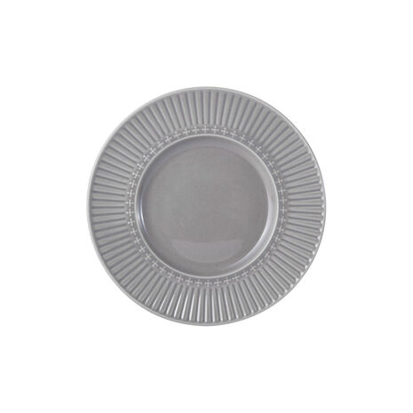 Fluted Grey Appetizer Plate
