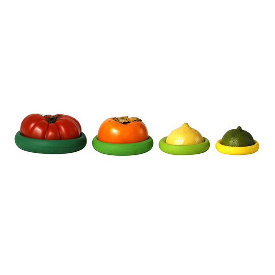 Set of 4 Green Food Huggers
