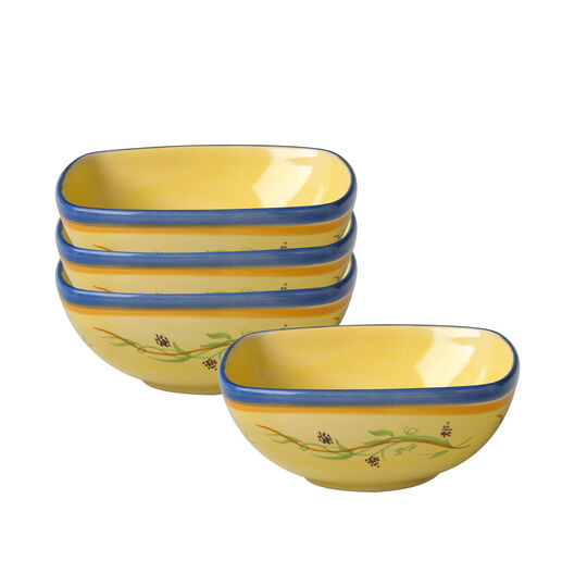 Set of 4 Individual Square Bowls