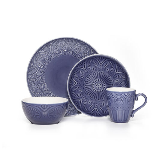 Cobalt 32 Piece Dinnerware Set