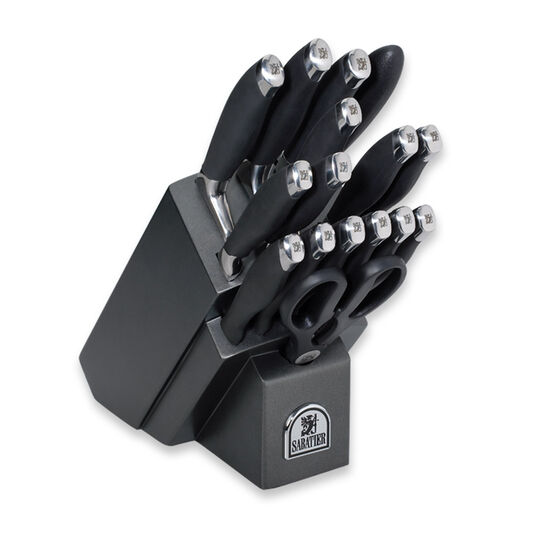 17 Piece Soft Handle Cutlery Set