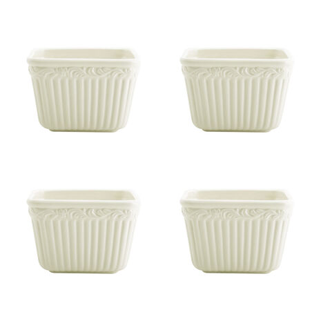 Square Bowls, Set of 4