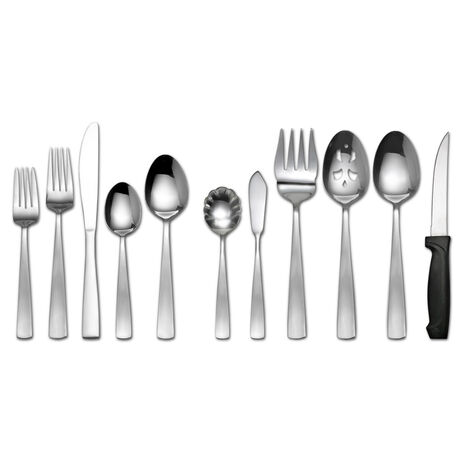 Satin Danford 101 Piece Flatware Set