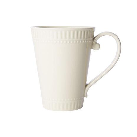 Fluted Beige Mug