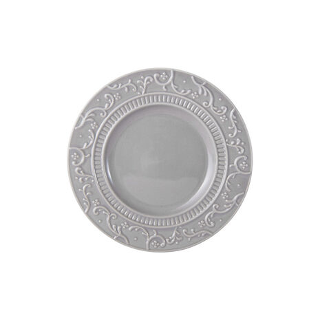 Scroll Grey Appetizer Plate
