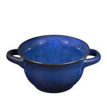 Accent Handled Soup Bowl
