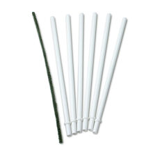 6 Reusable Plastic Straws