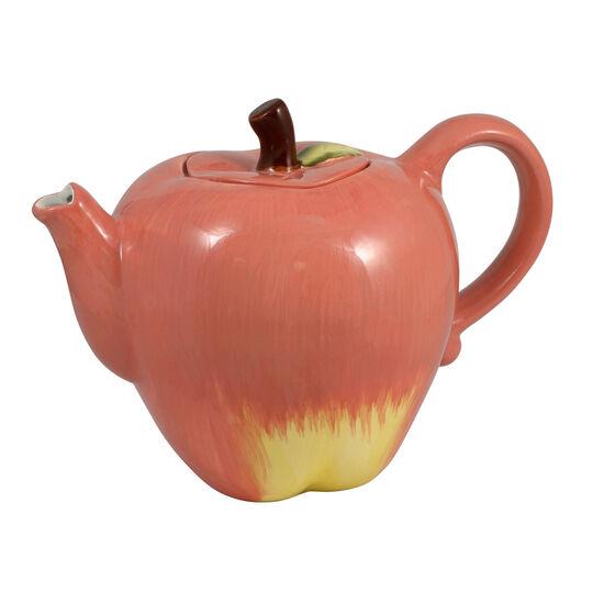 Sculpted Apple Teapot