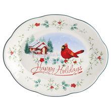 Cardinal Oval Plate