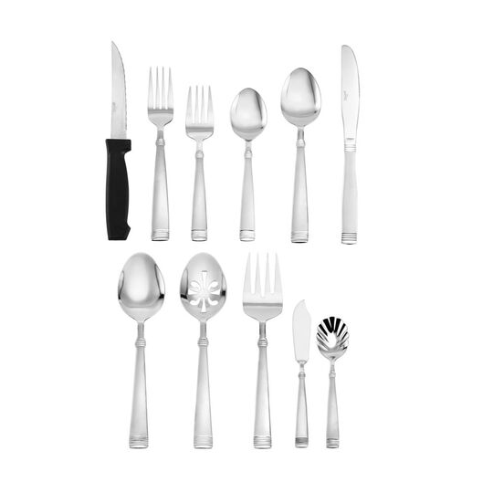 Palisade Frost 80 Piece Flatware Set