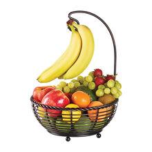 Rope Fruit Basket with Banana Holder