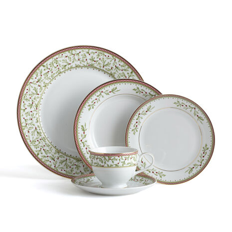 60 Piece Dinnerware Set with Bread and Butter Plate