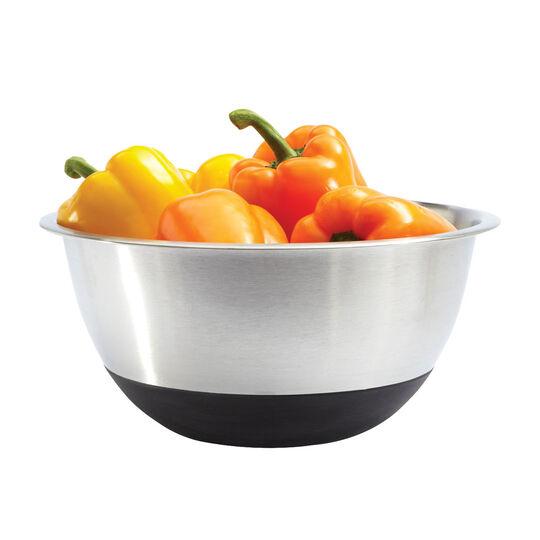 6.5 Quart Black Silicone Bottom Bowl