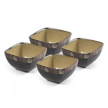 Set of 4 Square Soup Cereal Bowls