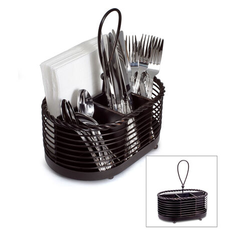 Rope Napkin and Flatware Caddy