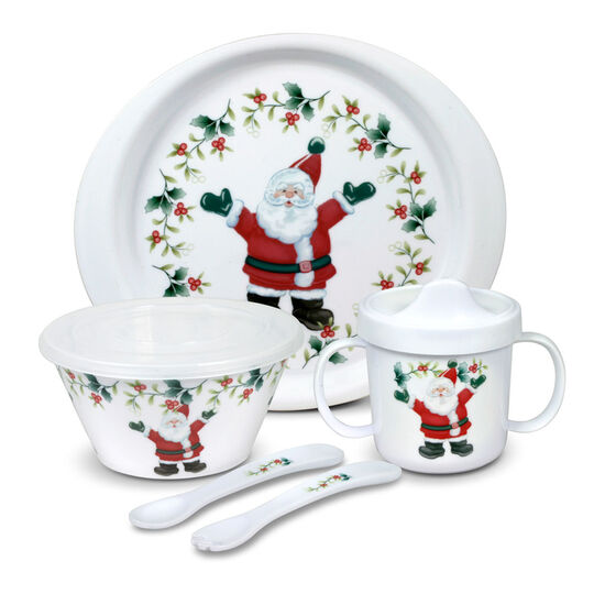 5 Piece Jolly Santa Childrens Set