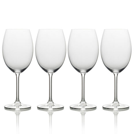Set of 4 Bordeaux Wine Glasses