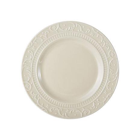 Scroll Beige Salad Plate