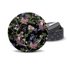 Kilburn Black Set of 4 Salad Plates