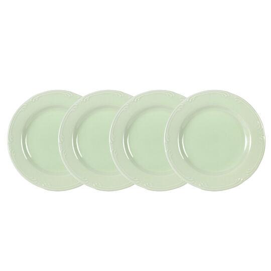 Set of 4 Sage Salad Plates