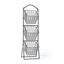 3 Tier Metal Market Basket