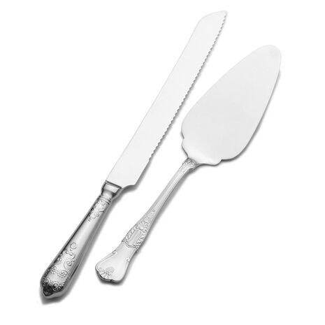 Hotel Pie Server and Cake Knife Set