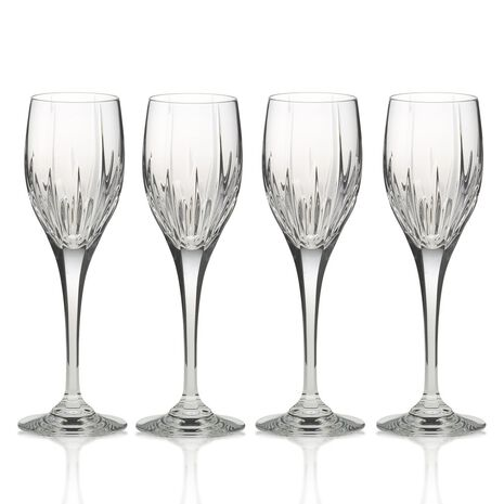 Crystal Wine Glasses, Set of 4