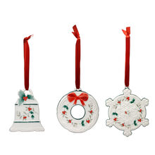 Set of 3 Ornaments