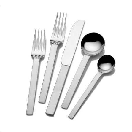 Drama 45 Piece Flatware Set, Service for 8