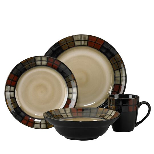 Dinnerware Set, 16 Piece