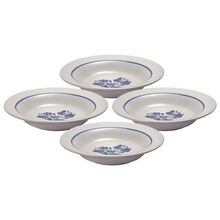 Set of 4 Rim Soup Bowls