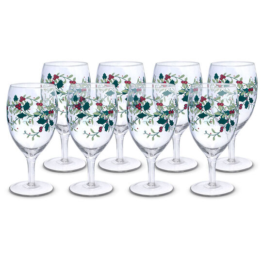 Set of 8 Iced Beverage Glasses