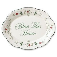 Bless This House Plate