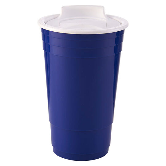 Double Walled Party Cup With Lid